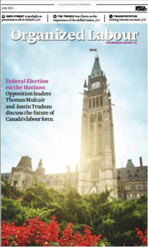 The Peace Tower at Parliament Hill sets the symbolic tone for unions and government, working collaboratively to support hard working Canadians. With the federal election on the rise, Ottawa is going to be in on the spotlight as leaders rally to gain support. (CNW Group/Mediaplanet Ltd)