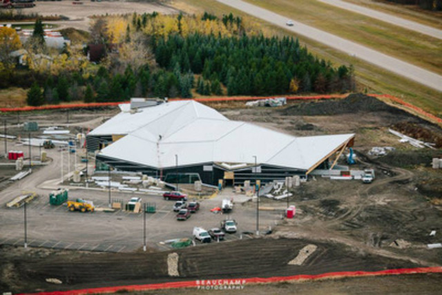 Commercial: Philip J. Currie Dinosaur Museum - photo courtesy of Beauchamp Photography (CNW Group/Wood WORKS! Alberta)