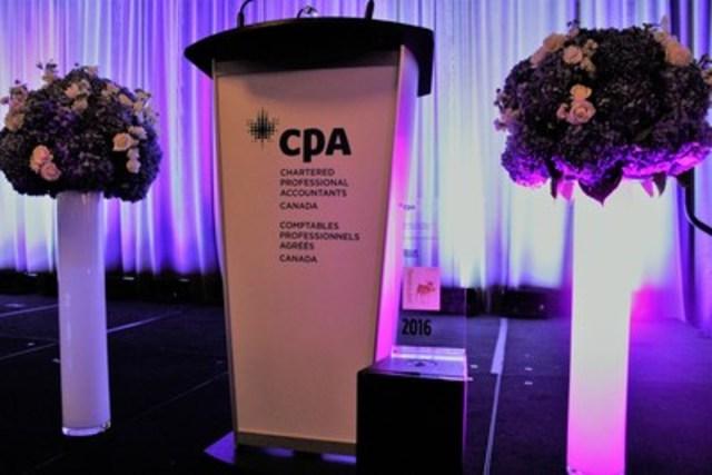 Prix d'excellence en information d'entreprise de CPA Canada (Groupe CNW/CPA Canada)