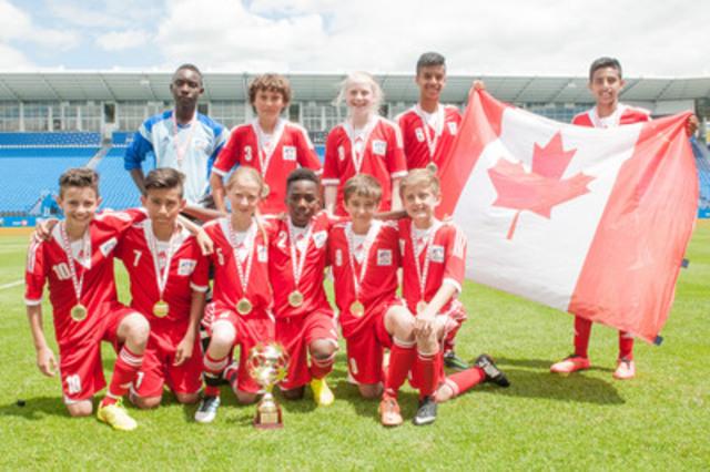 Équipe de l'Ouest (Canada), Coupe Danone des Nations 2014 (Groupe CNW/Coupe Danone des Nations)