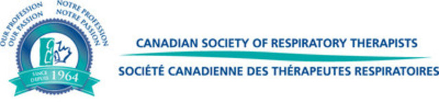 Canadian Society of Respiratory Therapists (CNW Group/Canadian Society of Respiratory Therapists)
