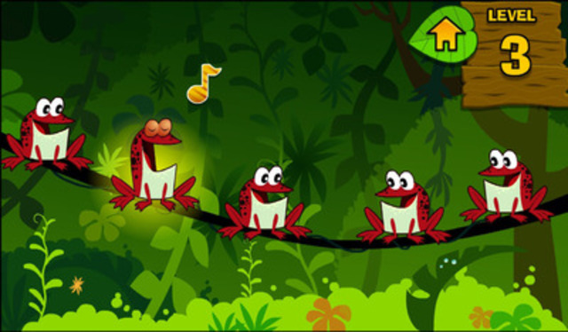 TVOKids' new free kids app Ribbit, Frog, Ribbit! (CNW Group/TVO)