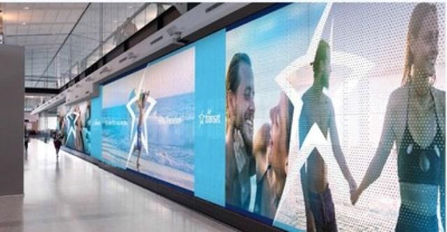 Transat et Aéroports de Montréal dévoilent l'Espace Air Transat (Groupe CNW/Air Transat)