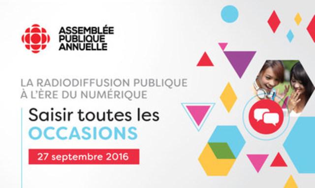 Assemblée publique annuelle 2016 (Groupe CNW/CBC/Radio-Canada)