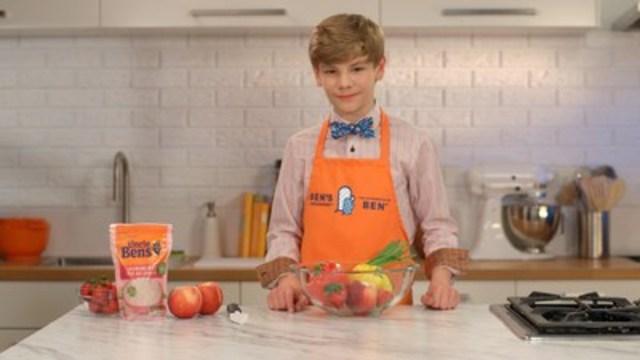 UNCLE BEN'S(MD) veut ramener les enfants dans la cuisine en proposant aux familles canadiennes de cuisiner avec LES APPRENTIS DE BEN(MC) (Groupe CNW/UNCLE BEN'S® Canada)