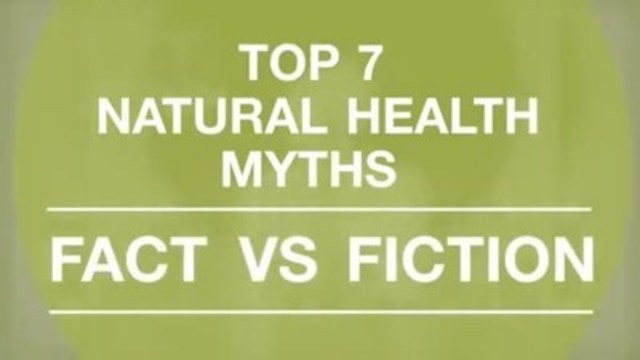 Video: The Canadian Health Food Association (CHFA) conducted a national survey of over 1,500 Canadians to determine if we can distinguish fact from fiction when it comes to popular natural health myths. It turns out, many Canadians still don't know all the facts. Here are Canada's top seven natural health myths explained. For further information on natural health visit chfa.ca.