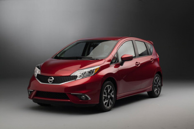 The new Versa Note SR will join Nissan's lineup this spring, featuring standout styling with the modern, sculpted look of the second-generation Versa Note and a wide range of additional exclusive features (CNW Group/Nissan Canada Inc.)