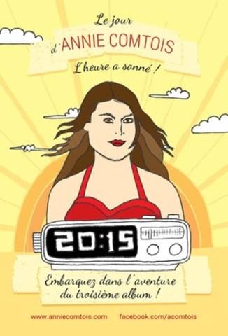 """La campagne """"Le jour d'Annie Comtois"""" est maintenant sur la plateforme Indiegogo (Groupe CNW/Productions Annie Comtois)"""
