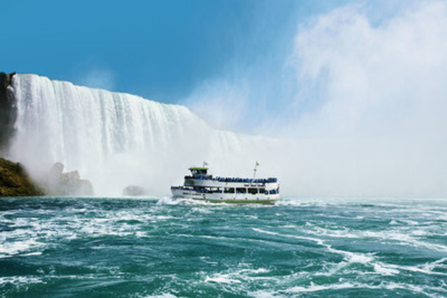 Maid of the Mist welcomed more than 1.4 million guests during the 2015 season.  www.maidofthemist.com (CNW Group/Maid of the Mist Corp.)