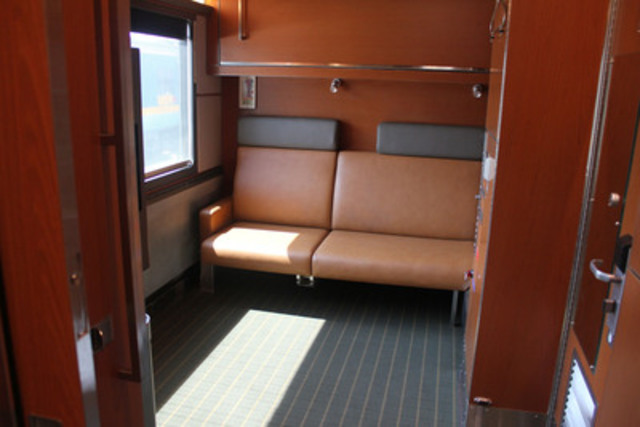 VIA Rail's new Accessible Cabin (CNW Group/VIA Rail Canada Inc.)