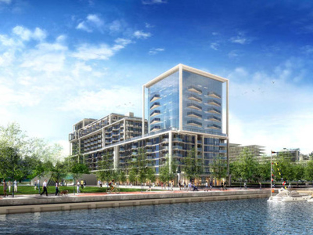 Aqualina at Bayside Rendering (CNW Group/Tridel)