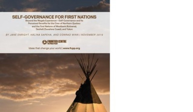 First Nation Self-Governance (CNW Group/Frontier Centre for Public Policy)
