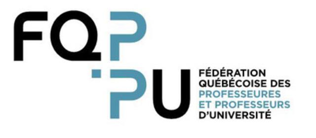 FQPPU. (Groupe CNW/Fédération québécoise des professeures et professeurs d'université)