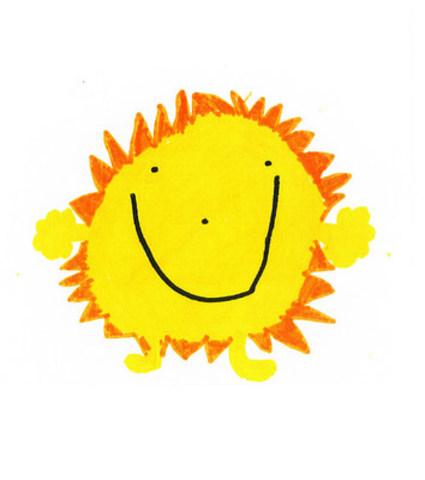 Léonard, 6 ans, a soumis au magasin IKEA d'Ottawa un dessin qui a été choisi parmi des milliers d'autres provenant des quatre coins du monde. Son soleil chaleureux et joyeux sera vendu sous forme de peluche dans les magasins IKEA à l'automne 2016. (Groupe CNW/IKEA Canada)