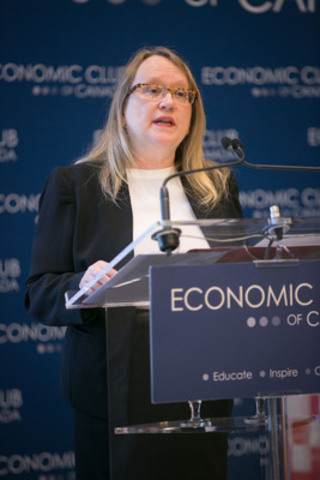 Valerie Creighton, President and CEO, Canada Media Fund (CNW Group/CANADA MEDIA FUND)