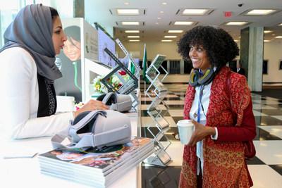 النساء السعوديات يتصدرن شرح جهود التنمية السعودية في اليمن أمام جمهور عالمي