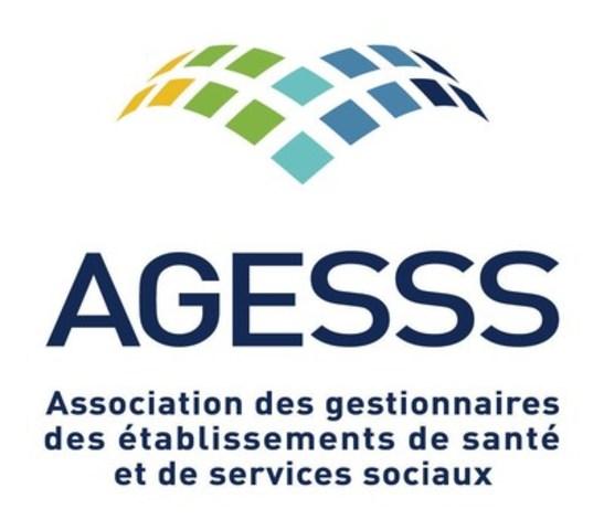 Logo: Association des gestionnaires des établissements de santé et de services sociaux (AGESSS) (Groupe CNW/Association des gestionnaires des établissements de santé et de services sociaux (AGESSS))
