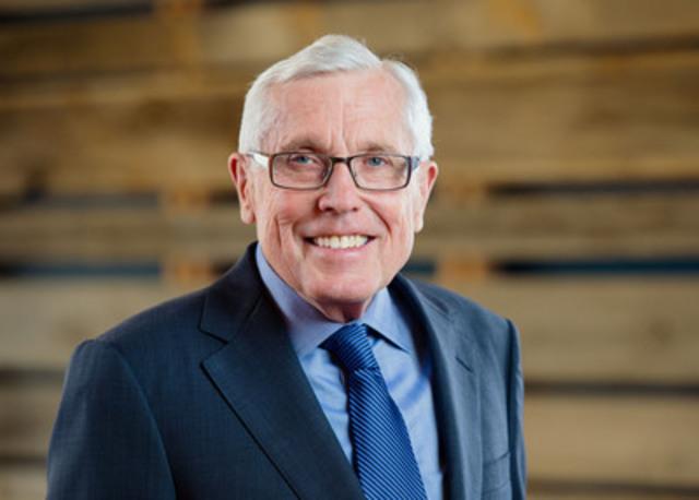 Gerry Pond, le tout premier Champion de l''entrepreneuriat BDC (Groupe CNW/Banque de développement du Canada)