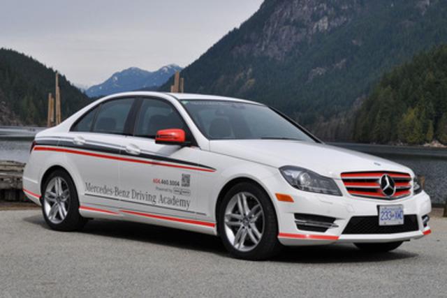 Dans le cadre de ses efforts incessants déployés pour aider à rendre les routes canadiennes plus sécuritaires pour tout le monde, Mercedes-Benz Canada a aujourd'hui annoncé le lancement officiel de l'Académie de conduite Mercedes-Benz pour nouveaux conducteurs. (Groupe CNW/Mercedes-Benz Canada Inc.)