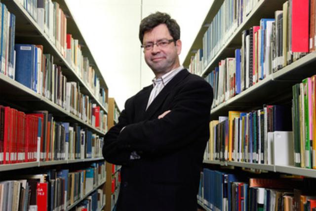 Professor Sylvain Martel, Director of Polytechnique Montréal's Nanorobotics Laboratory (CNW Group/ECOLE POLYTECHNIQUE DE MONTREAL)