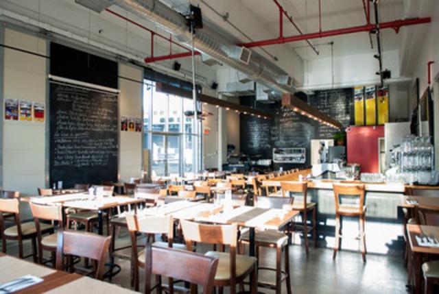 Resto-bar Brasseur de Montréal (Groupe CNW/BONE Structure)