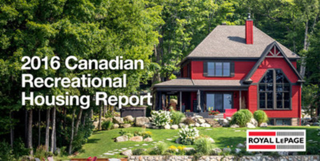 Generation X Driving Increased Demand for Recreational Properties (CNW Group/Royal LePage Real Estate Services)