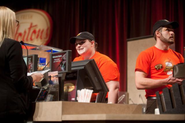 L'équipe Tim Hortons de St. John's, Terre-Neuve a participé au Défi de la coupe Tim hier à Ottawa. Les « Pat-Nots » ont battu près de 1 300 restaurants participants et se sont vus couronnés champions de l'hospitalité. (Groupe CNW/Tim Hortons)