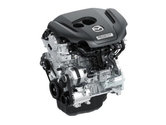 Moteur SKYACTIV-G 2.5T (Groupe CNW/Mazda Canada Inc.)