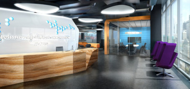 Johnson & Johnson Innovation annonce l'ouverture du centre JLABS @ Toronto avec 22 entreprises résidentes du secteur des sciences de la vie. (Groupe CNW/Johnson & Johnson Innovation)