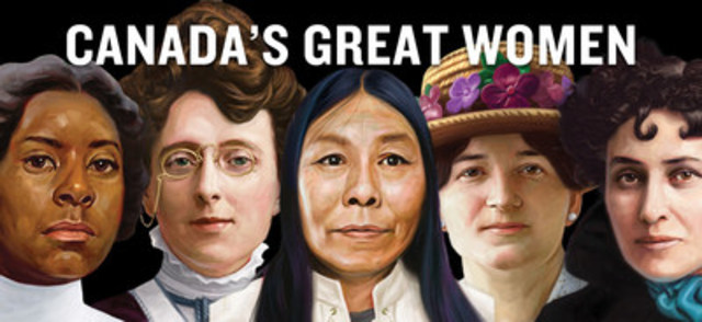 Canada's Great Women (CNW Group/Canada's History)