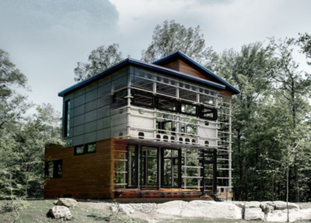 Cnw a house without nails bone structure launches first for Building a house in ontario