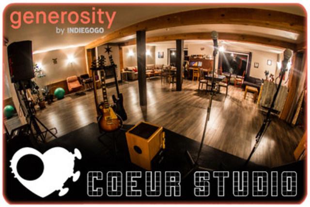 L'Art au Coeur de la Communauté ! Salle Événementielle du centre artistique grand public opéré par l'organisme Coeur Studio, en plein coeur du village de Val-David, Qc. Le Centre Artistique est également muni d'un studio d'enregistrement, d'un salon de thé, ainsi que de 2 dortoirs confortables pour artistes-résidents désirant effectuer un séjour immersif et ressourçant pour se concentrer sur leurs projets créatifs. (Groupe CNW/Coeur Studio)