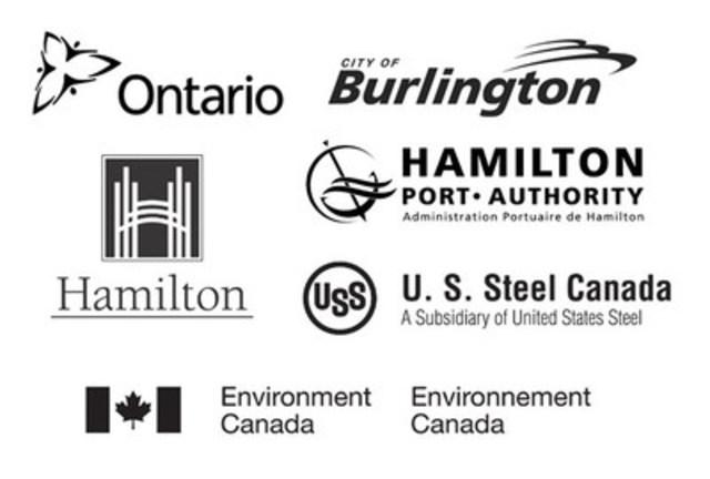 Les partenaires du projet du recif Randle (Groupe CNW/Environnement Canada)