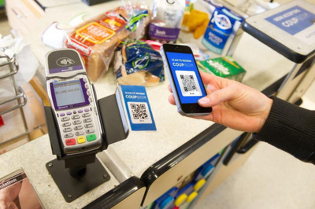 Use your smartphone to redeem savings instantly at the time of checkout. (CNW Group/Calgary Co-Operative Association Limited (Calgary Co-op))