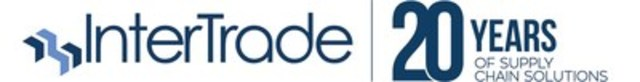 Logo : InterTrade / 20 years of supply chain solutions (CNW Group/InterTrade Systems Inc.)