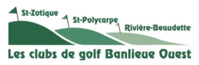 Logo - Les clubs de golf Banlieue Ouest (CNW Group/Club de golf St-Zotique inc.)