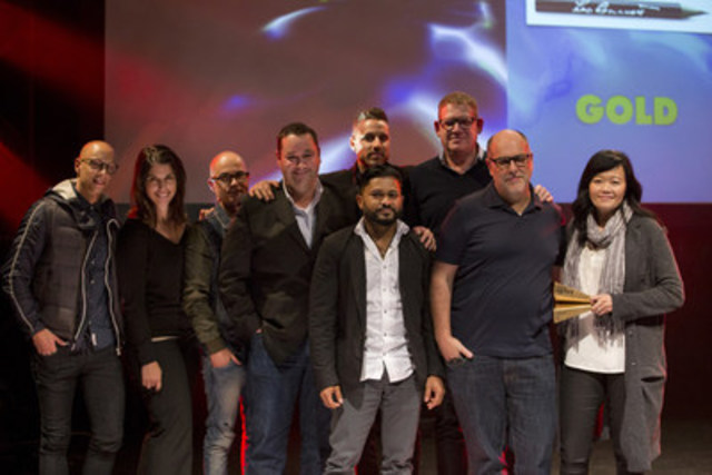 Agency of the Year winners Leo Burnett, win Gold for the 2nd consecutive year.  (CNW Group/strategy)