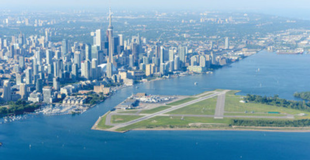 For the second year in a row, Billy Bishop Toronto City Airport has been voted by travellers as having one of the top ten Most Scenic Airport Approaches in the world. The airport is the only Canadian airport to be recognized in PrivateFly's global poll. Located on the Toronto Islands, Billy Bishop Airport offers the 2.5 million passengers who travel through the airport each year a scenic view of Toronto's skyline and vibrant harbour as they arrive (CNW Group/PortsToronto)