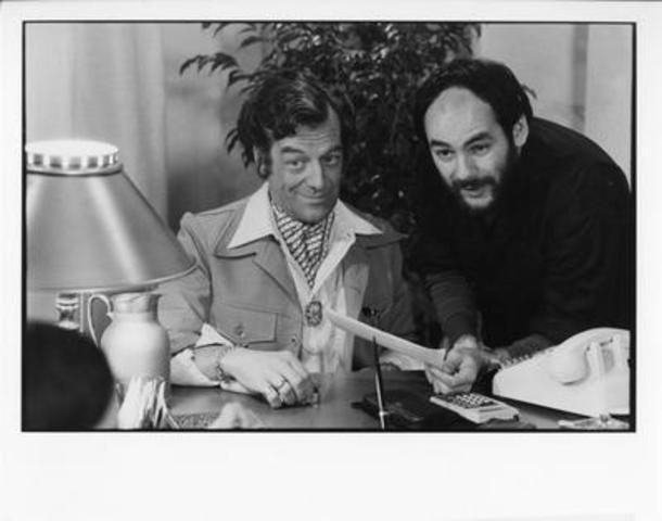 Edgar Fruitier et André Brassard (Groupe CNW/Québecor. Crédit: Cinémathèque québecoise)