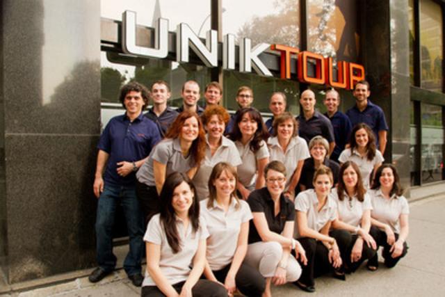 Les conseillers spécialistes-pays chez Uniktour. (Groupe CNW/Uniktour)