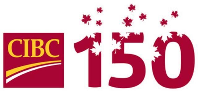 Logo du 150e anniversaire de la Banque CIBC (Groupe CNW/Banque CIBC)