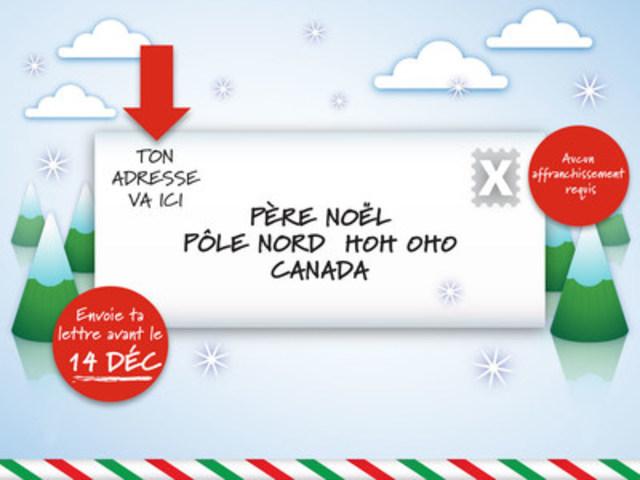 Le courrier du père Noël (Groupe CNW/Postes Canada)