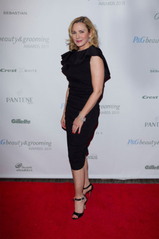 Beauty in the City: Kim Cattrall hosted the third-annual P&G Beauty & Grooming Awards on November 1st, celebrating editorial excellence in the Canadian beauty, grooming and fashion industry. (CNW Group/P&G Beauty)