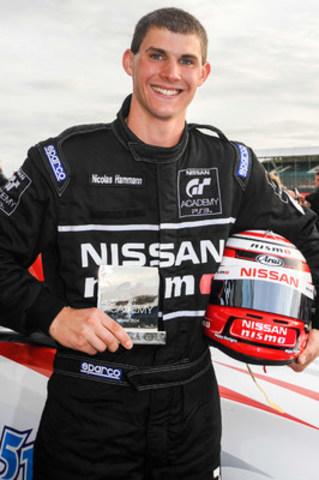 Le vainqueur de la NISSAN GT Académie US 2014, Nic Hammann, se joint à l'imposant peloton de pilotes canadiens inscrits à la deuxième saison (Groupe CNW/Nissan Canada Inc.)