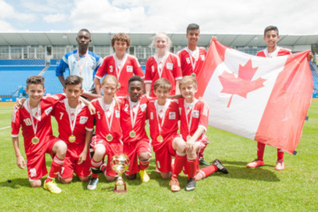 Western team (Canada), 2014 Danone Nations Cup. (CNW Group/Danone Nations Cup)