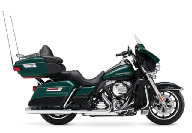 Electra Glide® Ultra Limited Low Motorcycle (CNW Group/Deeley Harley-Davidson Canada)