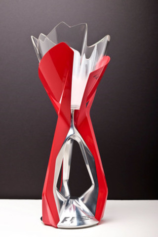 Created by BRP, the trophy of the winner of the Formula 1 Grand Prix du Canada. (CNW Group/BRP)