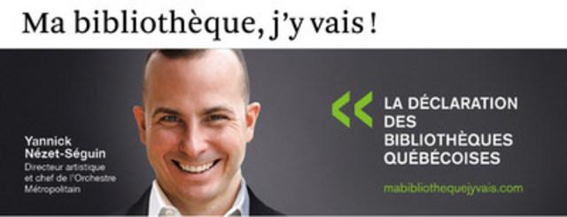 Yannick Nézet-Séguin (Groupe CNW/Table permanente de concertation des bibliothèques québécoises)