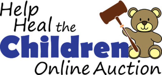 Help Heal the Children Online Auction Logo (CNW Group/Immunodeficiency Canada)