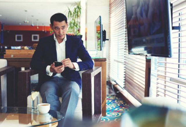 Offre télévisuelle de Cogeco pour les clients affaires / Cogeco TV Offering for Business Clients (Groupe CNW/Cogeco Connexion)